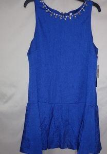 Kensie Lapis Jeweled Mini Dress Sz XL Plus